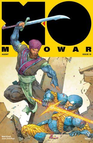X O MANOWAR SOLDIER #19