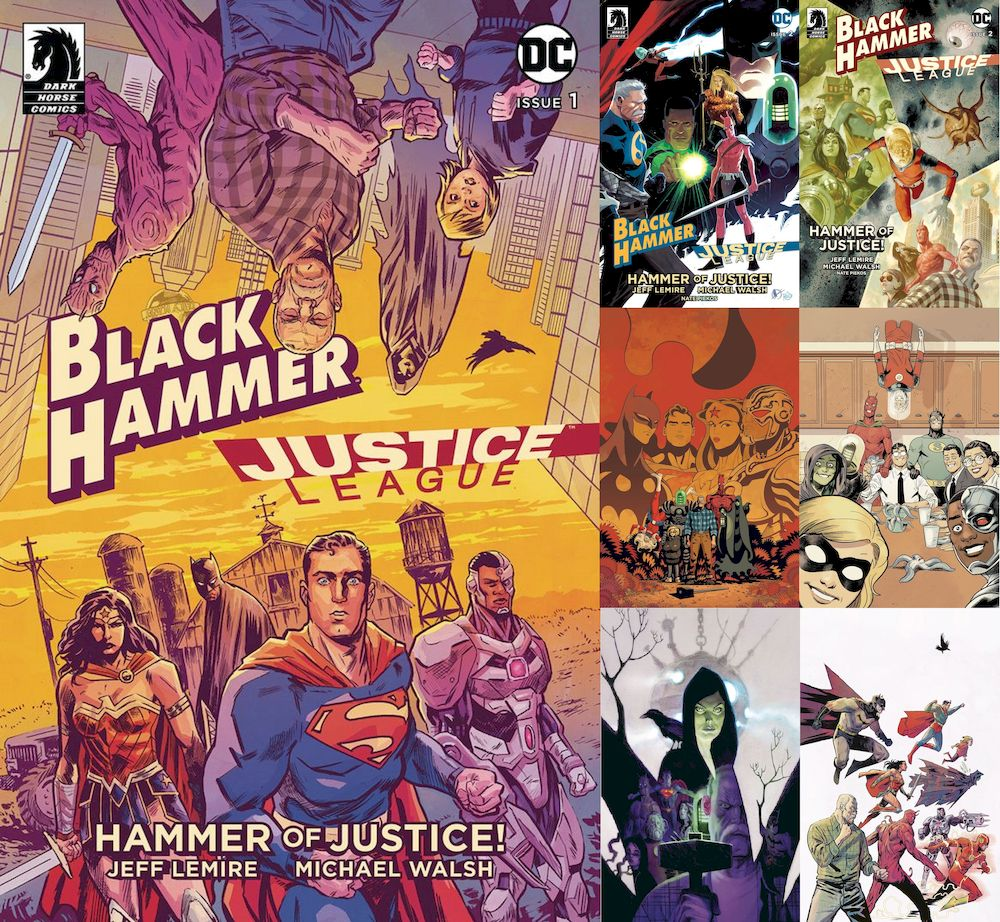 BLACK HAMMER JUSTICE LEAGUE #1 - #5 (OF 5) SET
