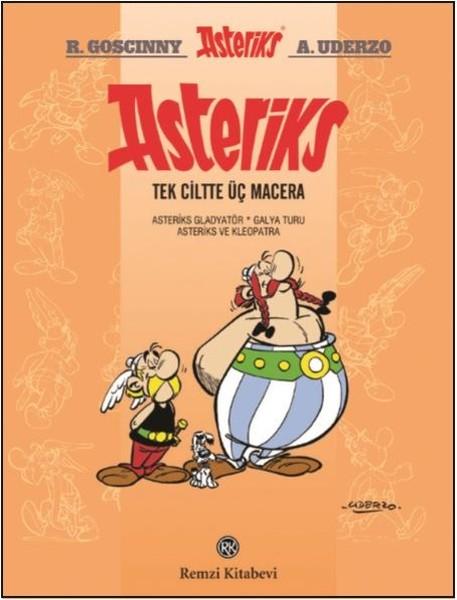 Asteriks Tek Ciltte Üç Macera Cilt 2
