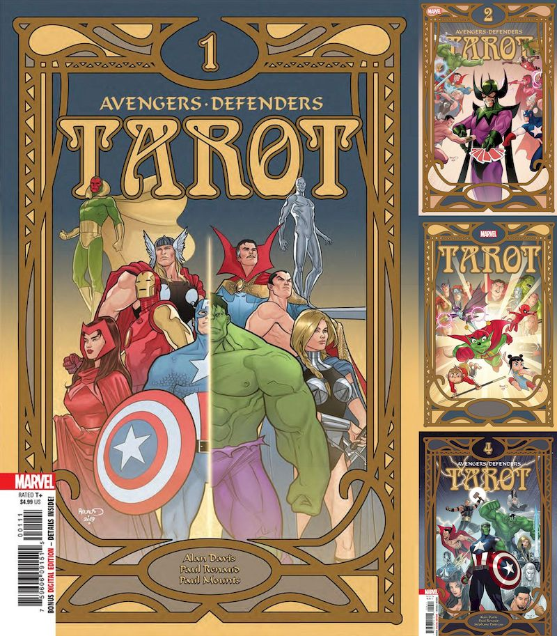 TAROT #1 - #4 (OF 4) SET