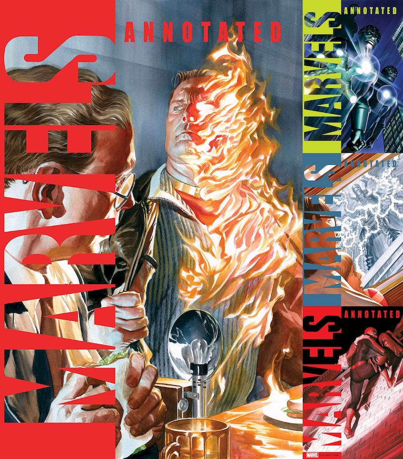 MARVELS ANNOTATED #1 - 4 (OF 4) SET
