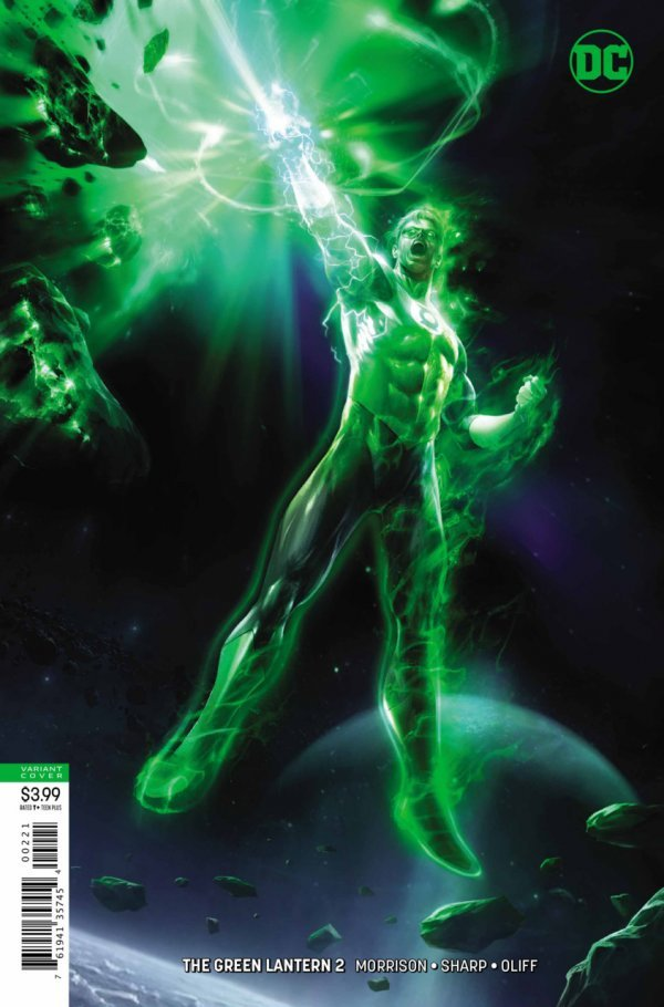 GREEN LANTERN #1 - #5 VARIANT SET