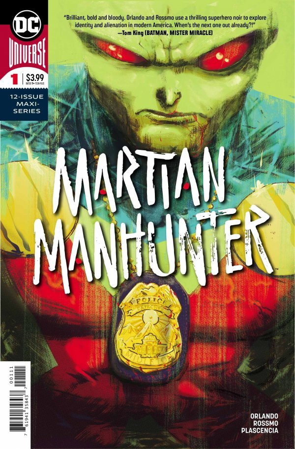 MARTIAN MANHUNTER #1 - #5 SET