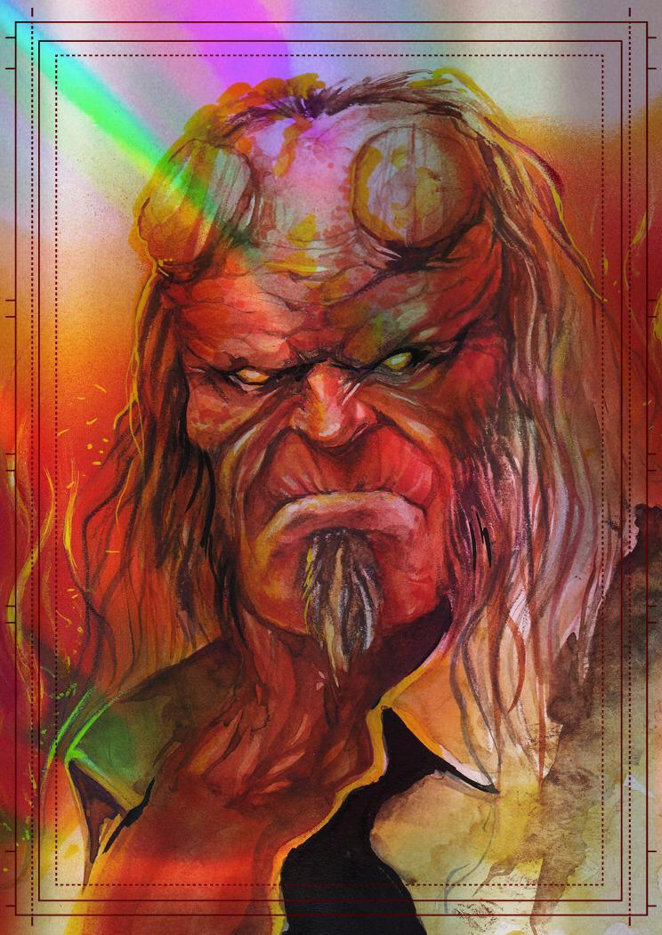 Görkem Demir Holo Sketch Card No: 1