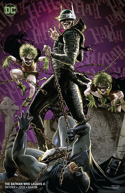 BATMAN WHO LAUGHS #4 (OF 7) VARIANT