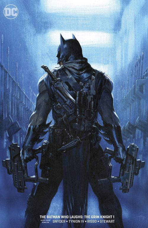 BATMAN WHO LAUGHS THE GRIM KNIGHT #1 DELL'OTTO VARIANT