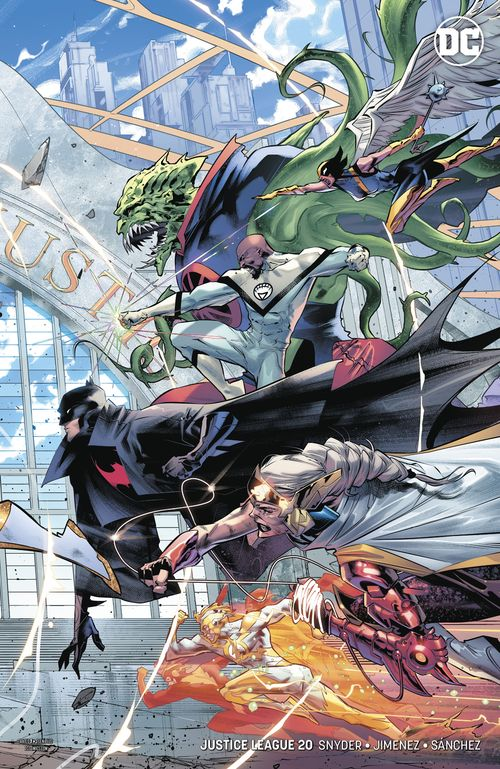 JUSTICE LEAGUE #20 VARIANT - RIGHT