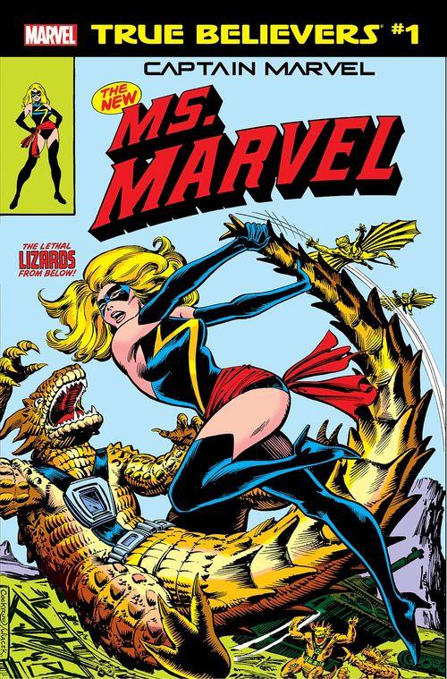 TRUE BELIEVERS CAPTAIN MARVEL NEW MS MARVEL #1