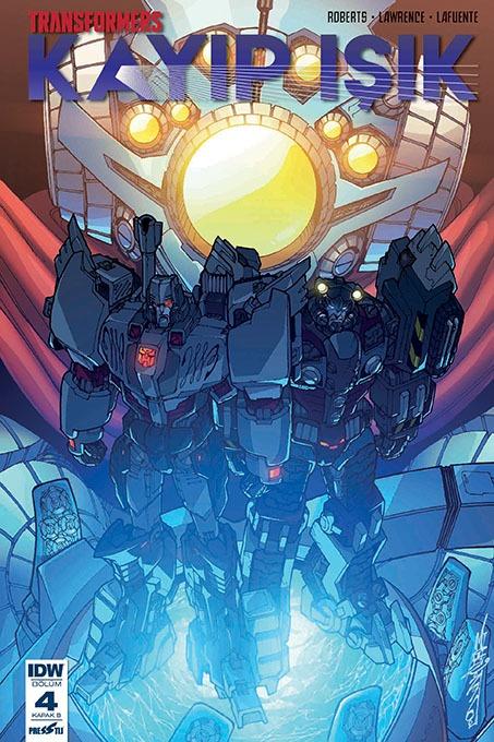 Transformers - Kayıp Işık: 4: Kapak B