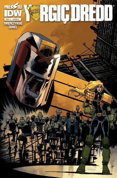 Yargıç Dredd 11: Kapak A