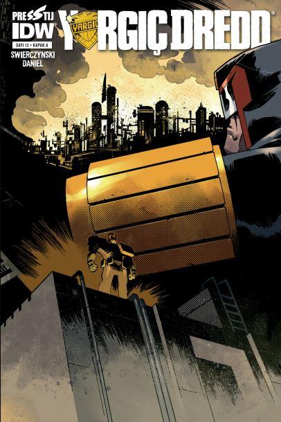 Yargıç Dredd: 12 - Kapak A