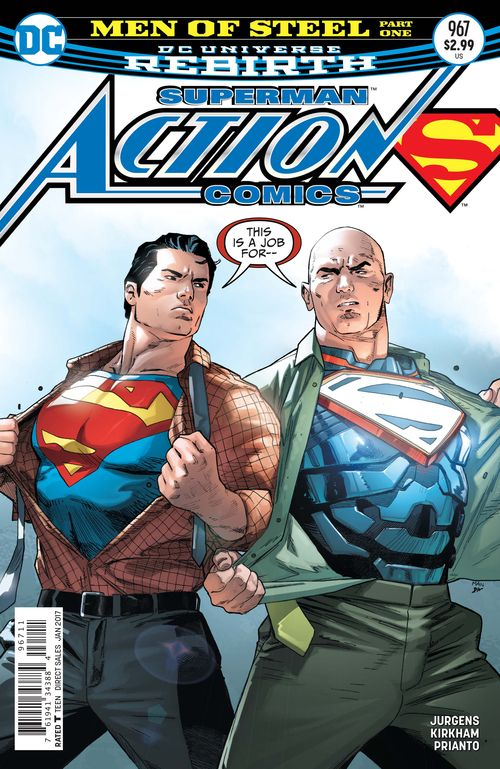 ACTION COMICS #967 - #974 SET