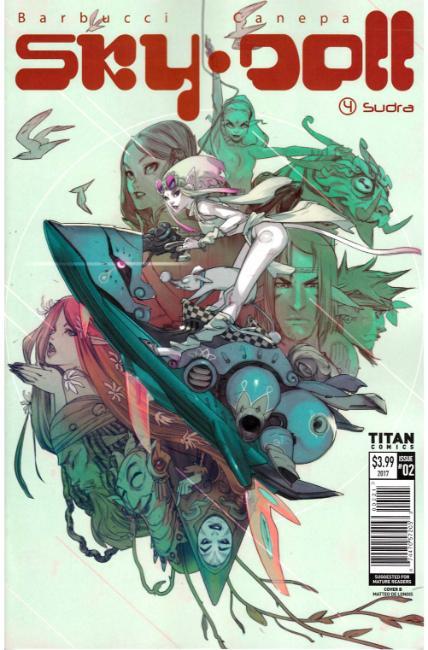 SKY DOLL SUDRA #2 COVER B