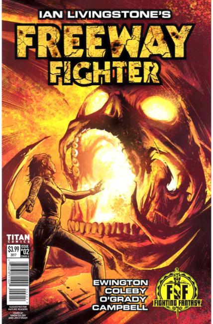 FREEWAY FIGHTER #2 COVER B