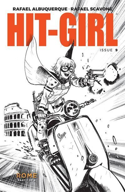 HIT-GIRL ISSUE #9 COVER B