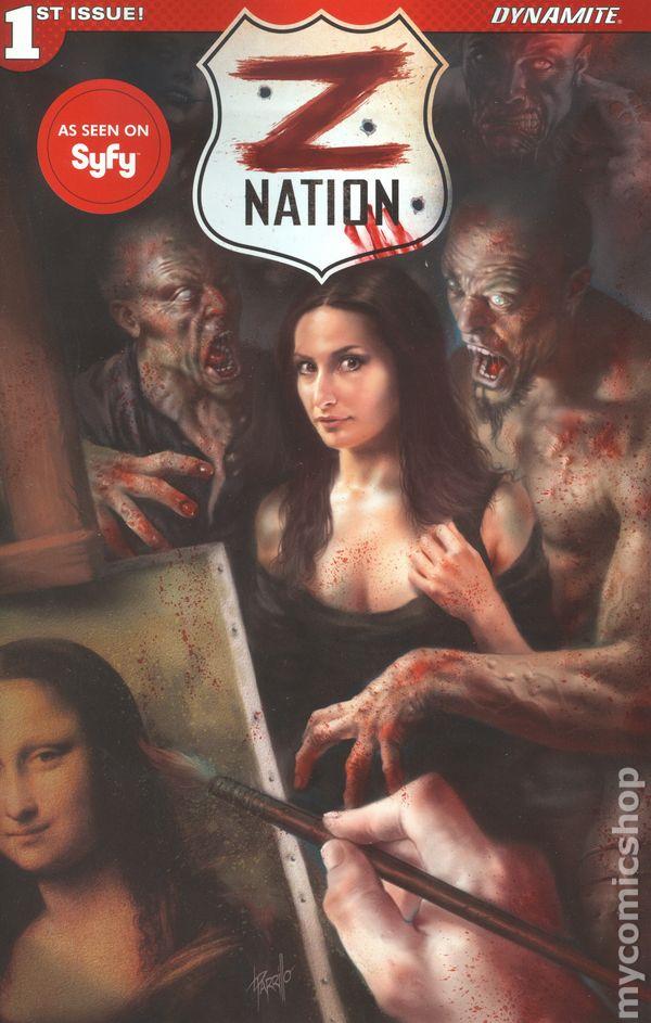 Z NATION #1 COVER B