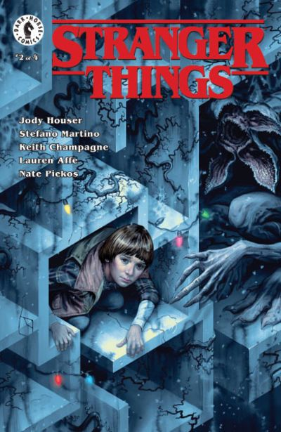STRANGER THINGS #2 COVER C MORRIS