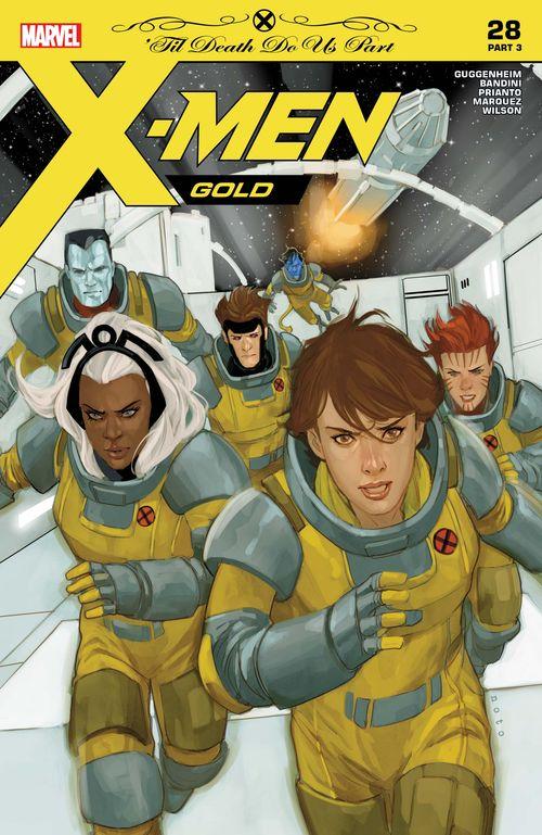 X MEN GOLD #28