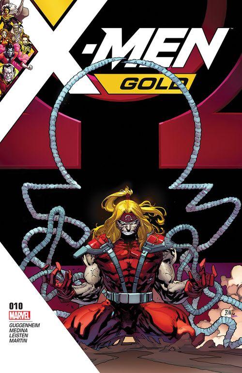 X MEN GOLD #10