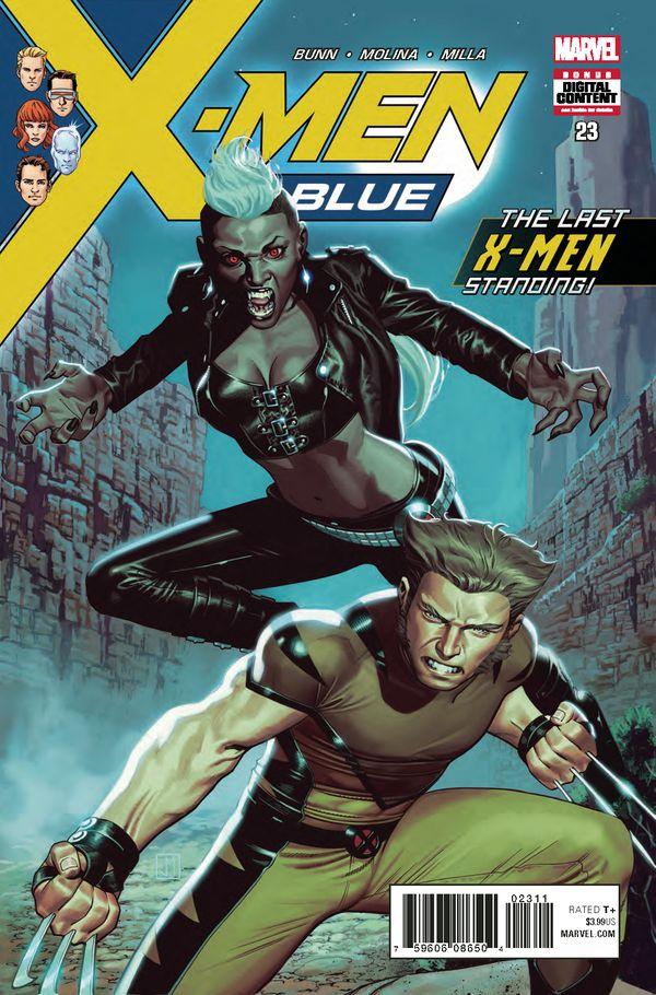X MEN BLUE #23