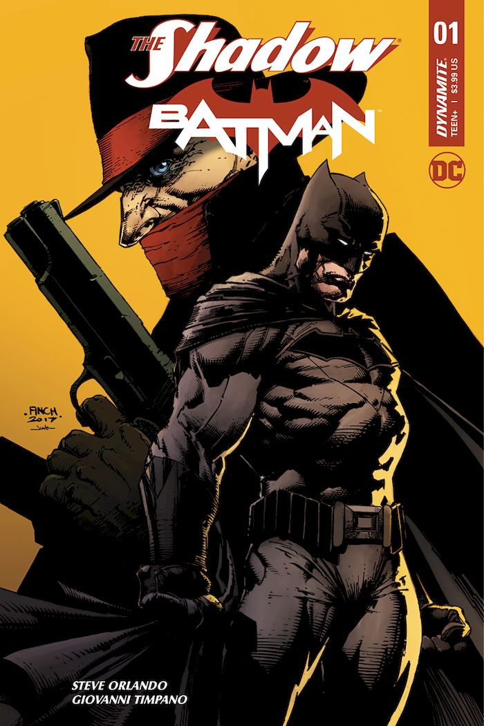 THE SHADOW BATMAN #1 - #3 SET