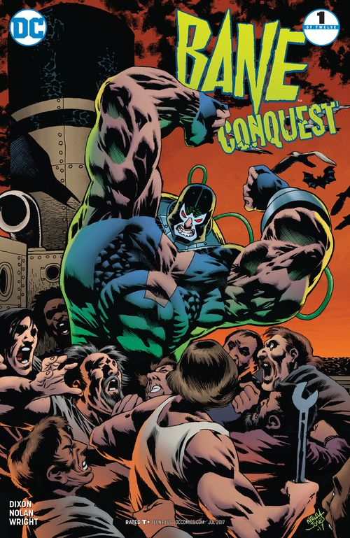 BANE CONQUEST #1  (OF 12) VARIANT 1