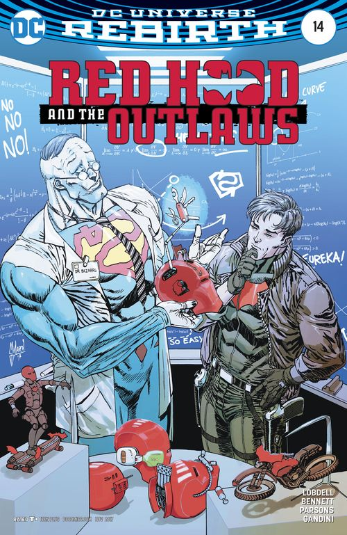 RED HOOD AND THE OUTLAWS REBIRTH #14 VARIANT