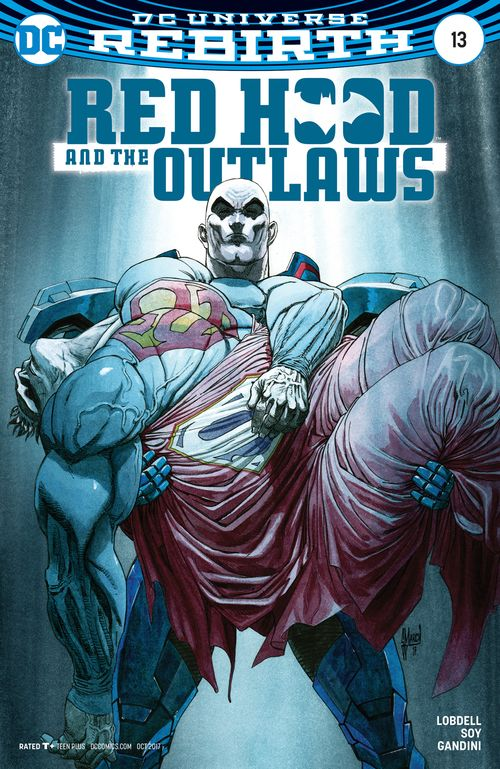 RED HOOD AND THE OUTLAWS REBIRTH #13 VARIANT