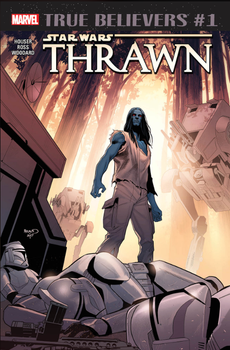 TRUE BELIEVERS STAR WARS THRAWN #1 + 1 Adet Yerli Karton ve Poşet