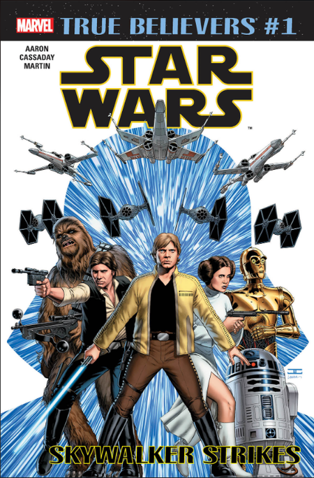 TRUE BELIEVERS STAR WARS SKYWALKER STRIKES #1 + 1 Adet Yerli Karton ve Poşet