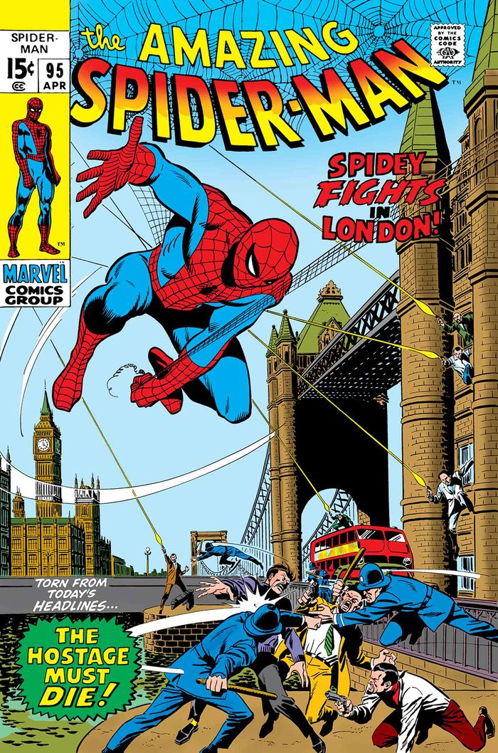 TRUE BELIEVERS SPIDER-MAN SPIDEY FIGHTS IN LONDON #1 + 1 Adet Yerli Karton ve Poşet