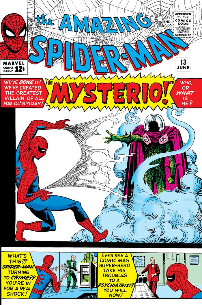TRUE BELIEVERS SPIDER-MAN VS MYSTERIO #1 + 1 Adet Yerli Karton ve Poşet