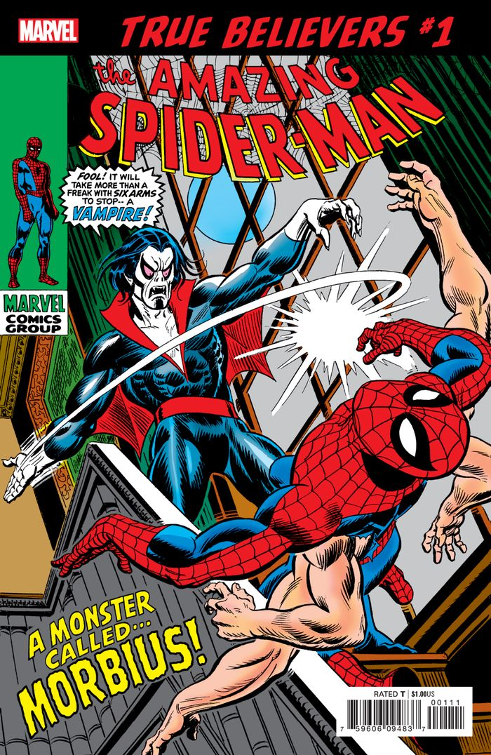TRUE BELIEVERS SPIDER-MAN MORBIUS #1 + 1 Adet Yerli Karton ve Poşet