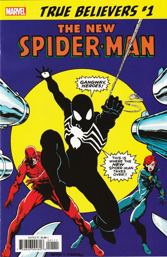 TRUE BELIEVERS NEW SPIDER-MAN #1
