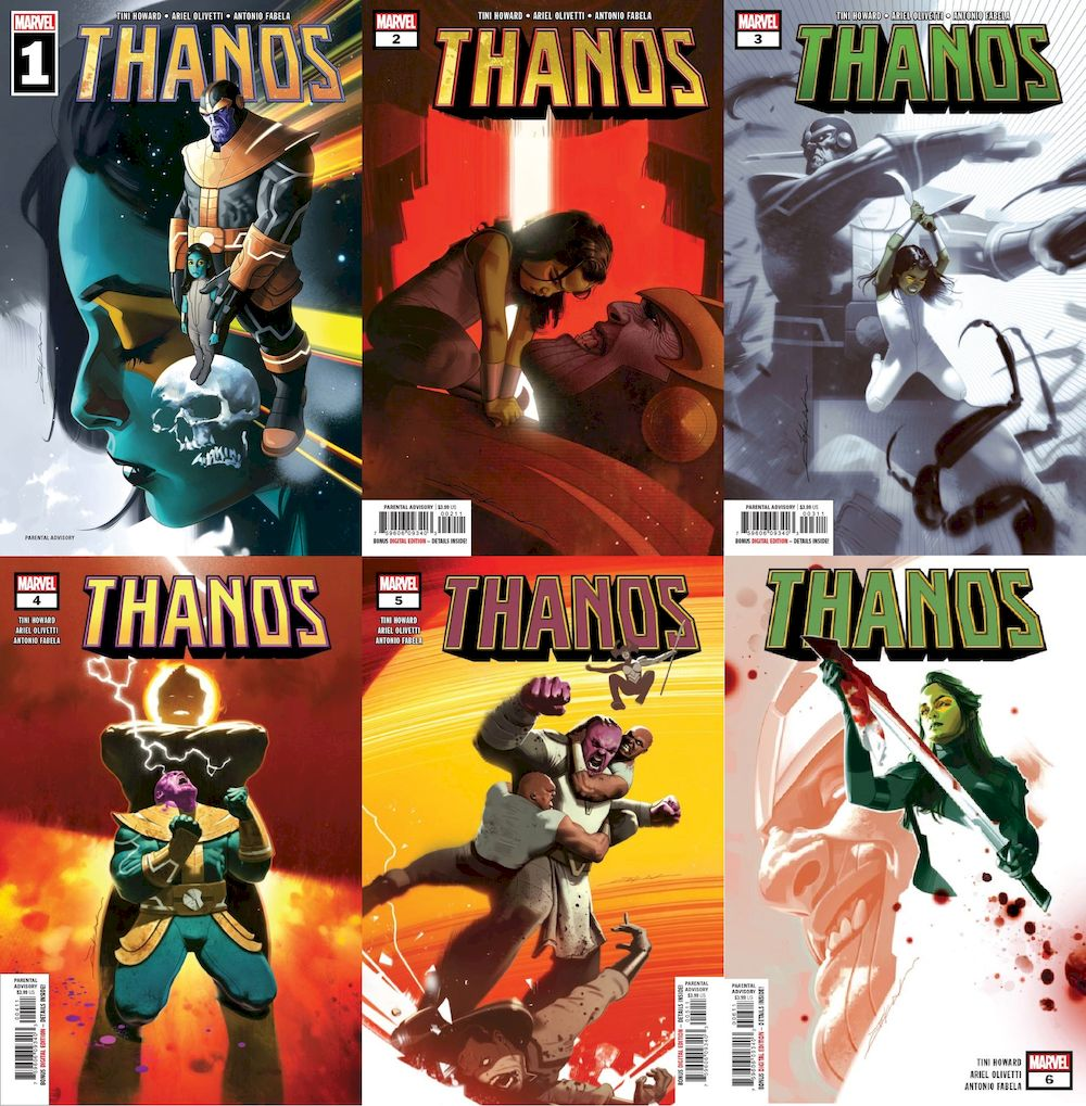 THANOS #1 - #6 (OF 6) SET