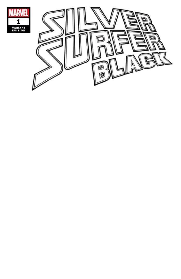 SILVER SURFER BLACK #1 (OF 5) BLANK VARIANT