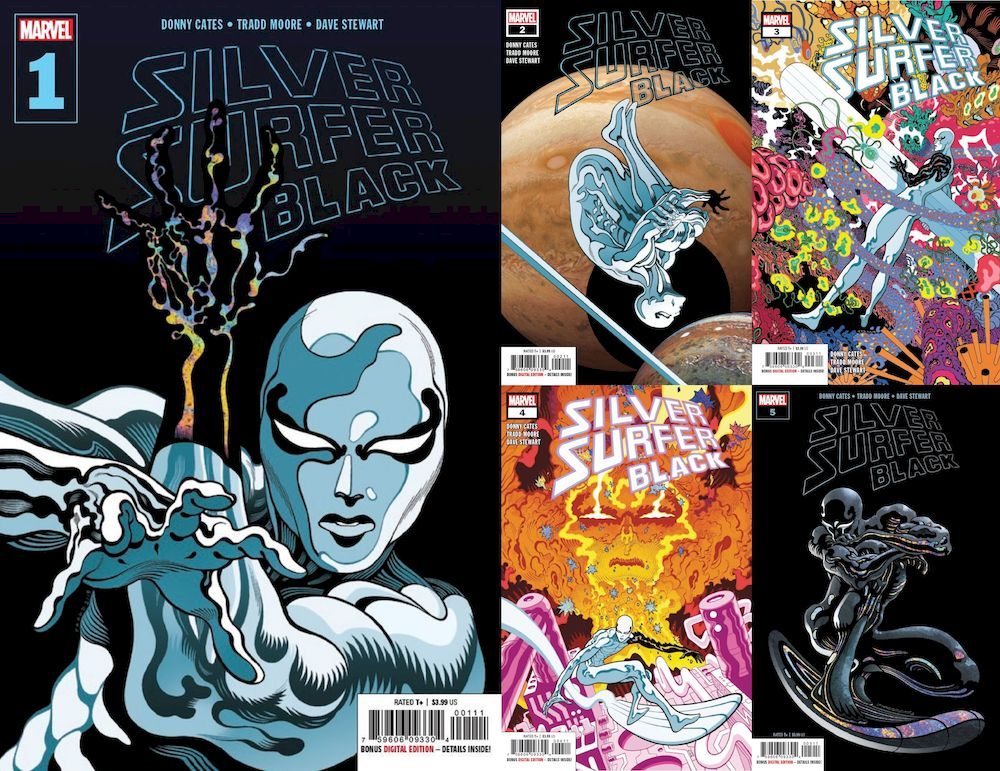 SILVER SURFER BLACK #1 - #5 (OF 5) SET