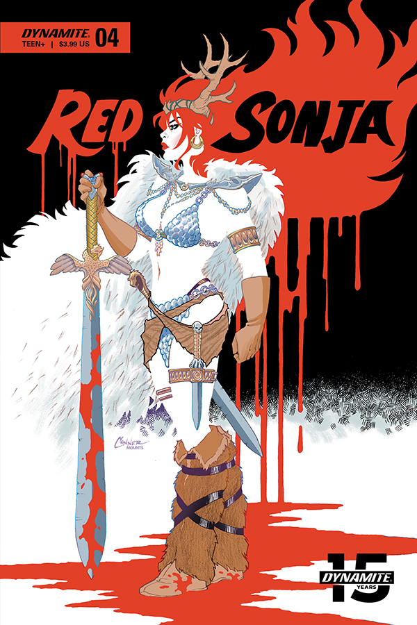 RED SONJA #4 COVER A CONNER