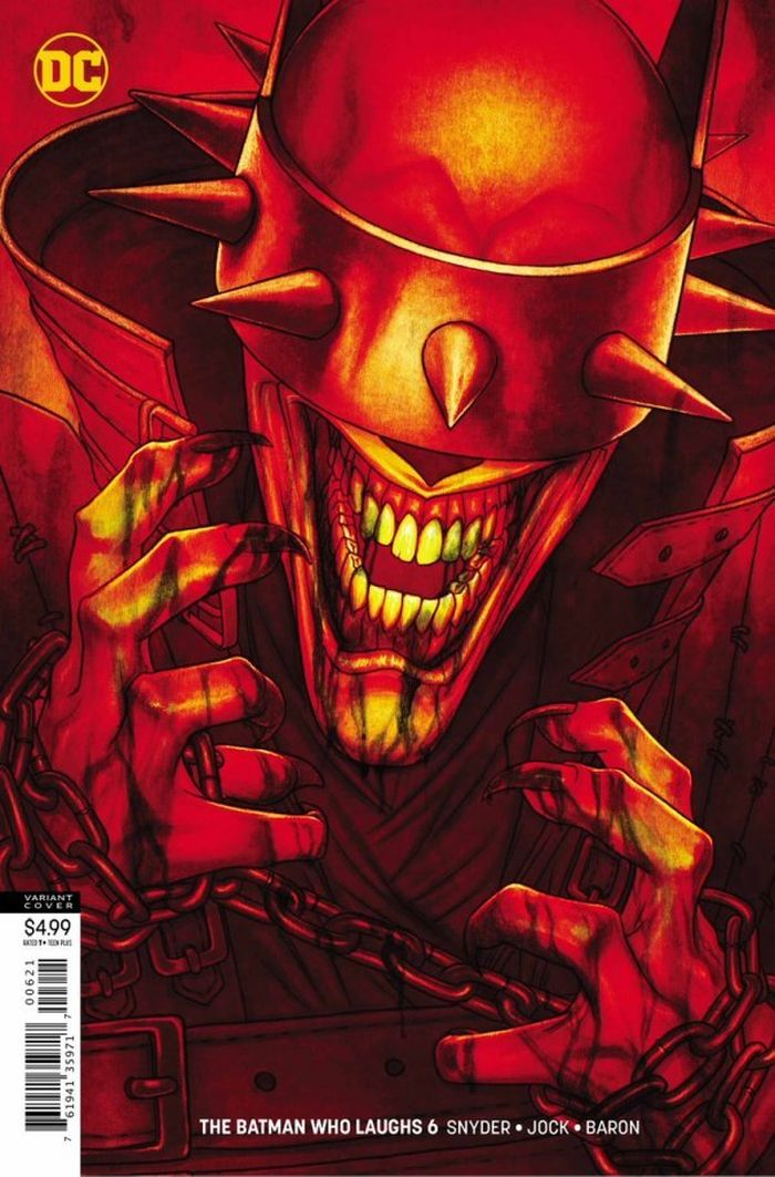 BATMAN WHO LAUGHS #6 (OF 7) VARIANT
