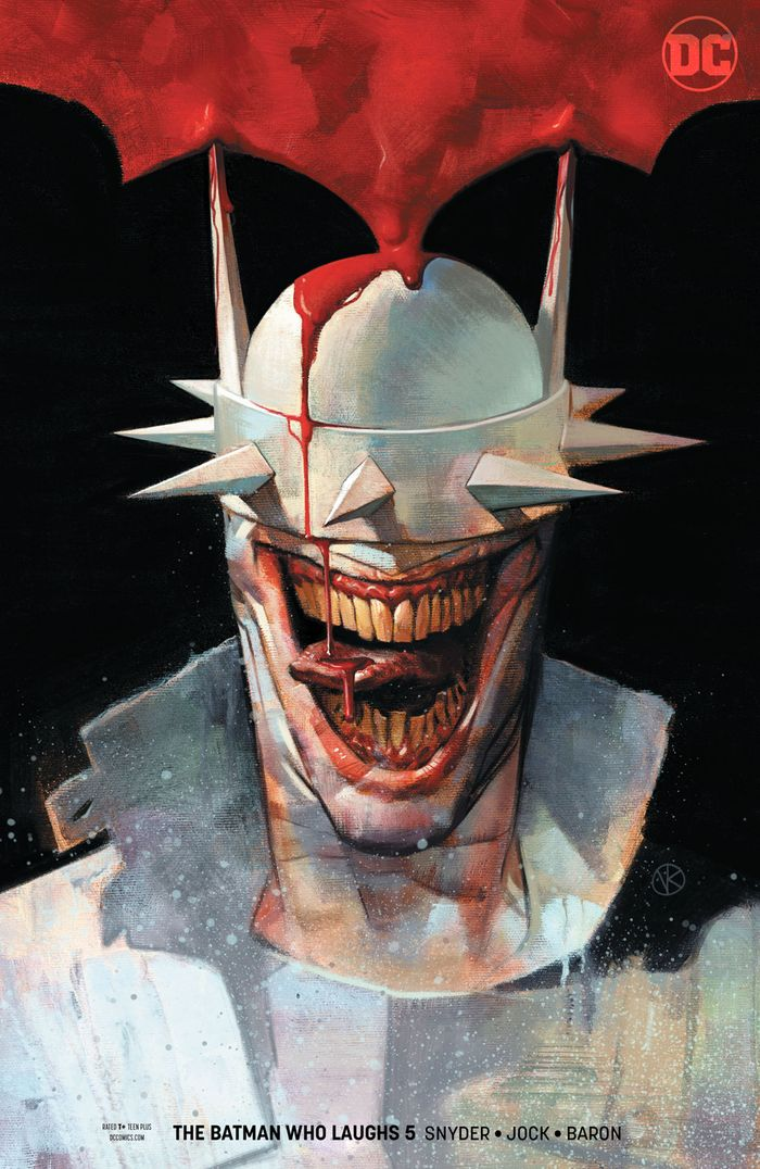 BATMAN WHO LAUGHS #5 (OF 7) VARIANT
