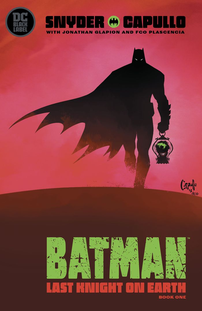 BATMAN LAST KNIGHT ON EARTH #1 - 3 (OF 3) SET