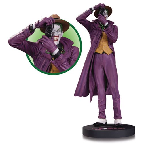 The Killing Joke Joker by Brian Bolland Statue Mini