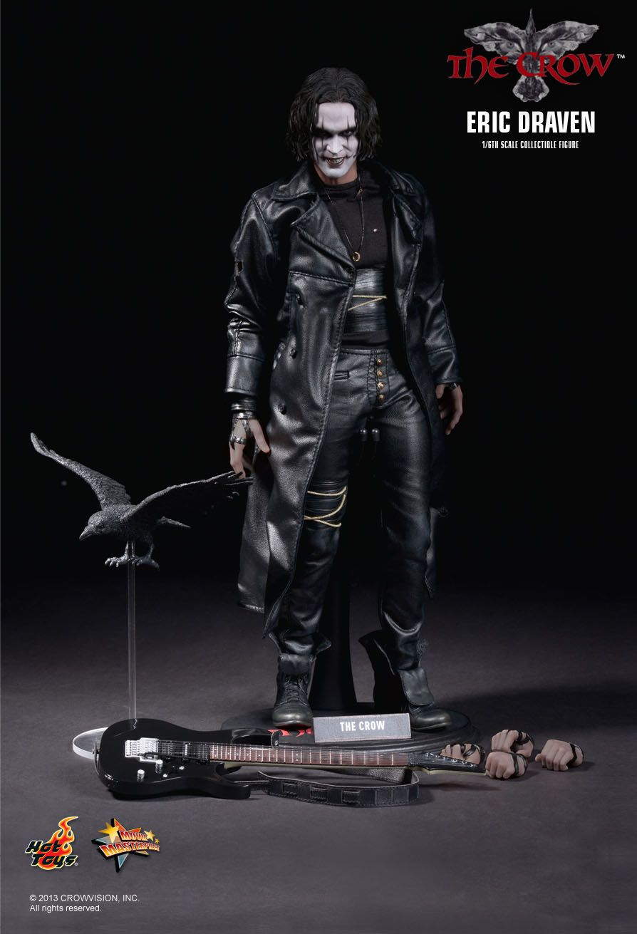 ERIC DRAVEN MOVIE MASTERPIECE ACTION FIGURE 1/6 THE CROW MMS210