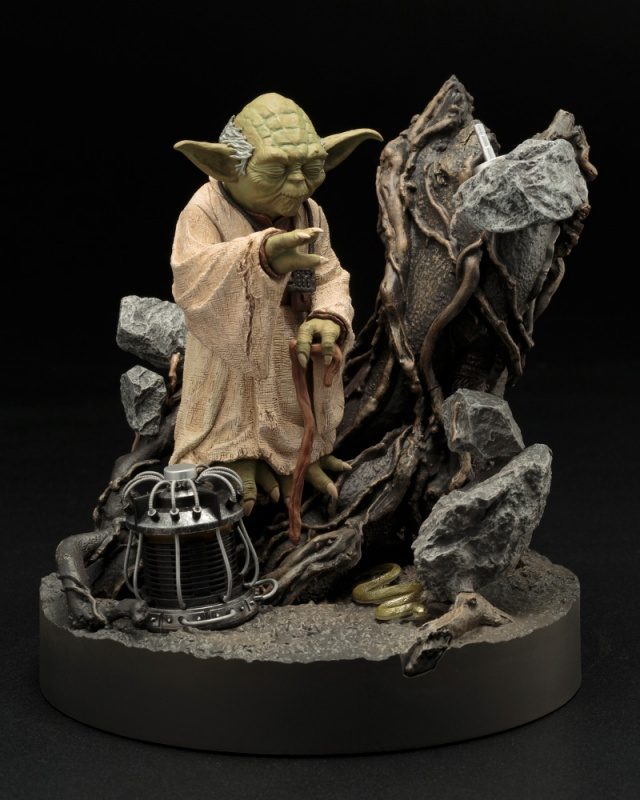 Yoda - The Empire Strikes Back - 1/7 Scale Pre Painted Model Kit