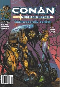 Conan The Barbarian 1-6 Tam Maceralı Set (Lal Kitap)