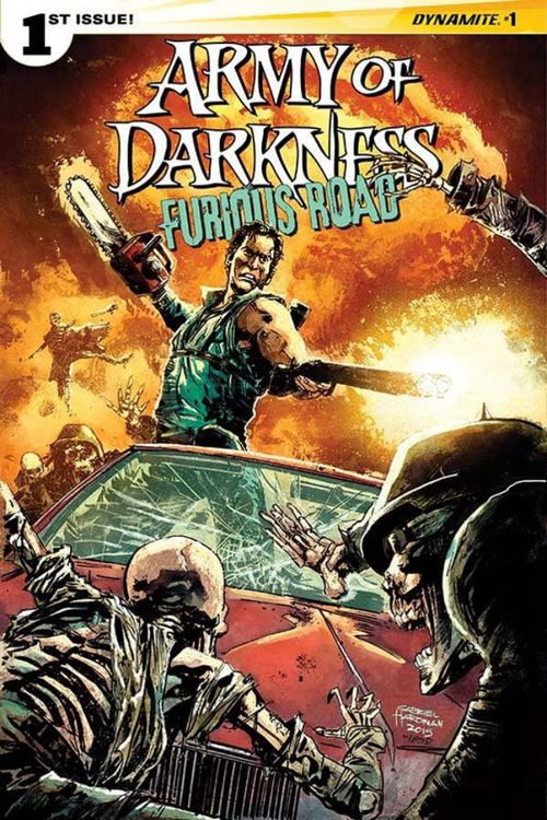 ARMY OF DARKNESS FURIOUS ROAD (2015) #1 VARIANT