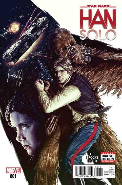 STAR WARS HAN SOLO #1 - #5 SET