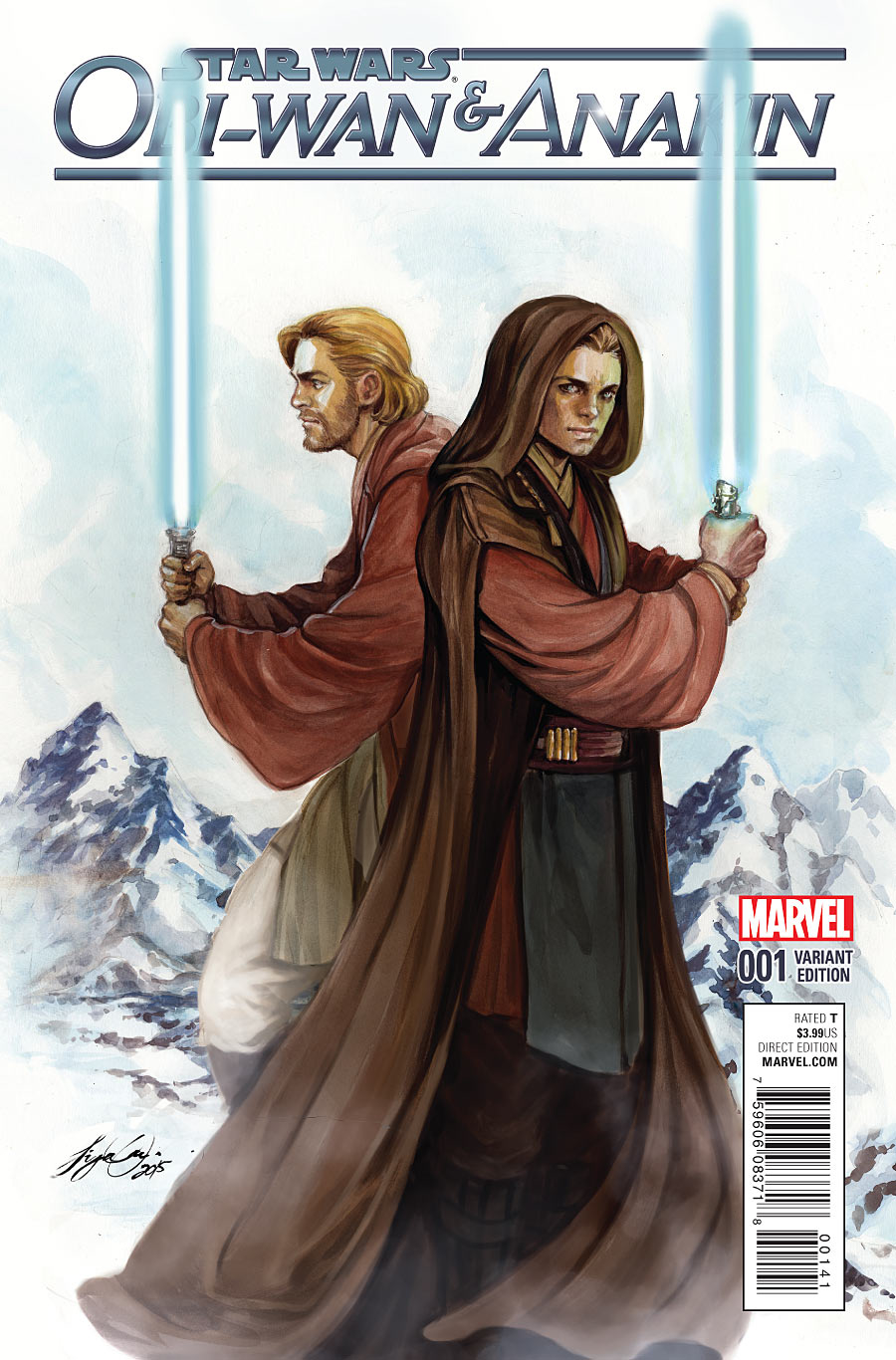 STAR WARS OBI-WAN AND ANAKIN #1 - #5 SET