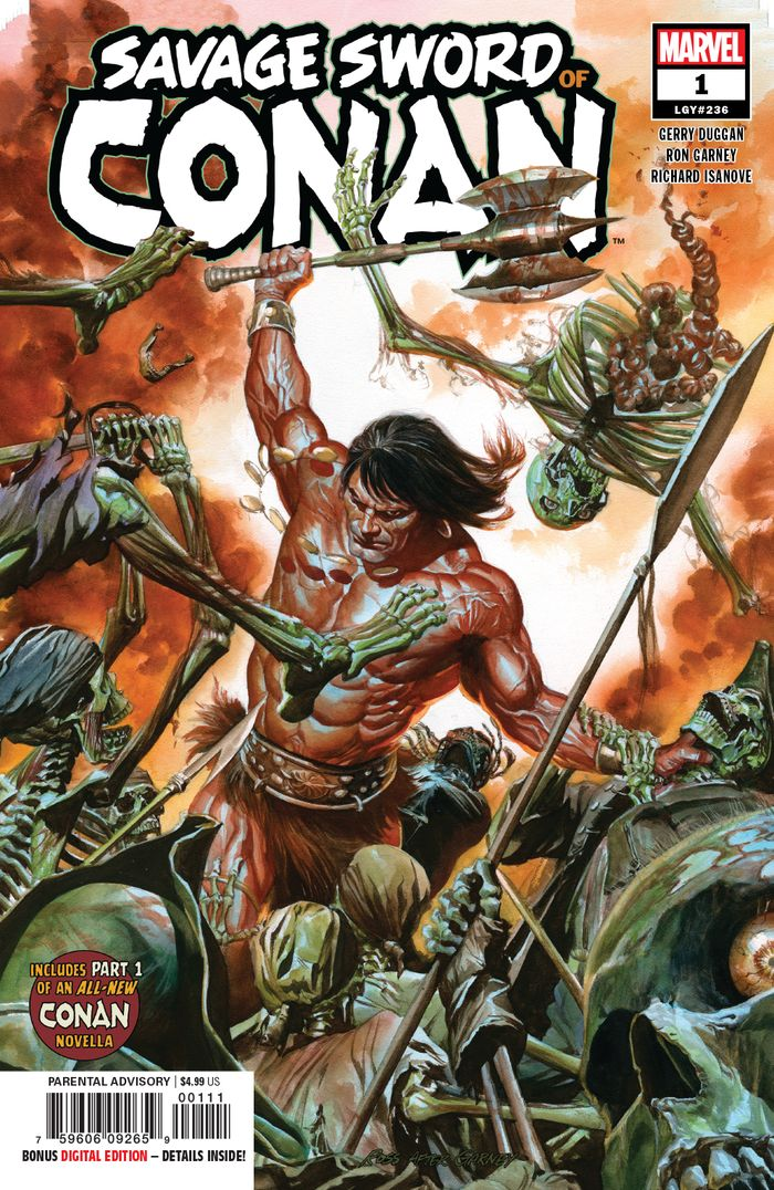 SAVAGE SWORD OF CONAN #1 - #5 SET