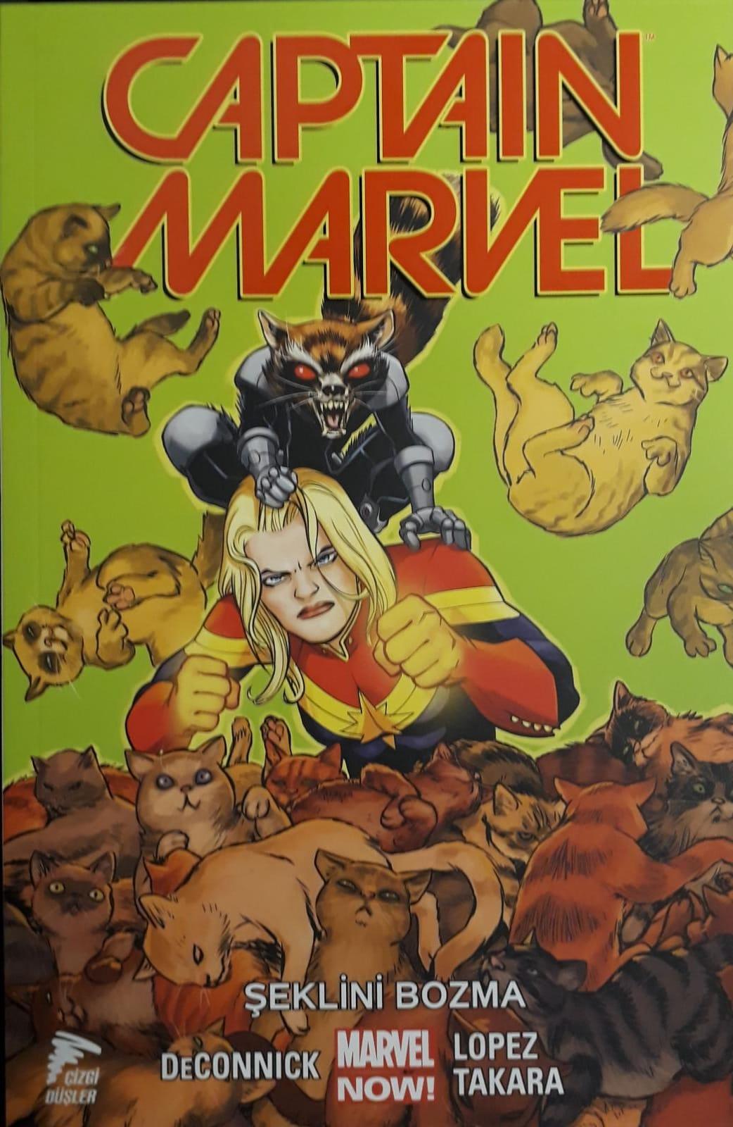 Captain Marvel Cilt 2 - Şeklini Bozma